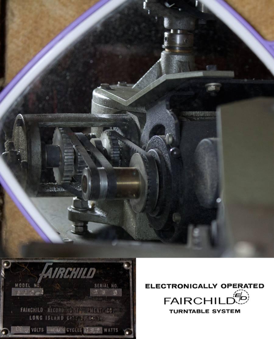 Fairchild 530-C ◇ フェアチャイルド 16インチ局用ターンテーブル ◇7