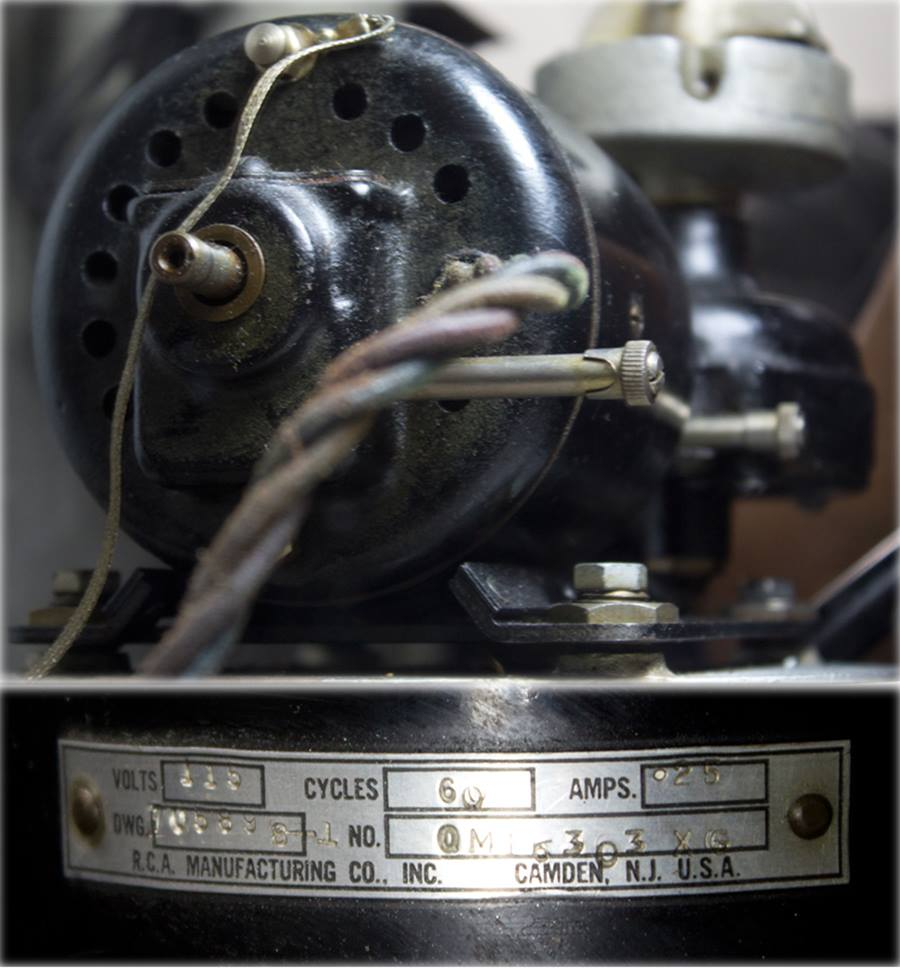 RCA 70-D ◇ 17インチ局用ターンテーブル ◇8