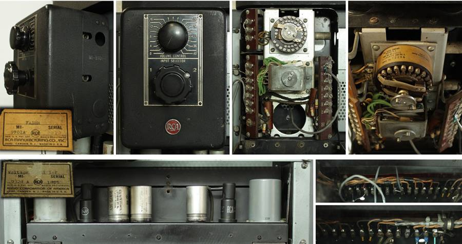 RCA MI-9354, MI-9375 ◇ 劇場用アンプ ◇5