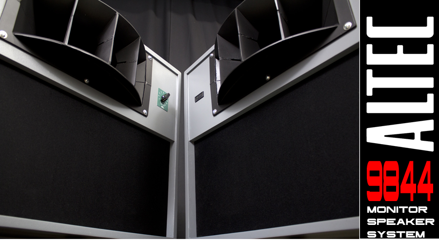 ALTEC  9844 Monitor Speaker System ◇ アルテック (414 + 806A) 16Ω ◇