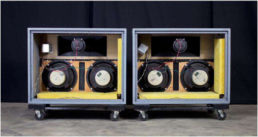 ALTEC  9844 Monitor Speaker System ◇ アルテック (414 + 806A) 16Ω ◇8