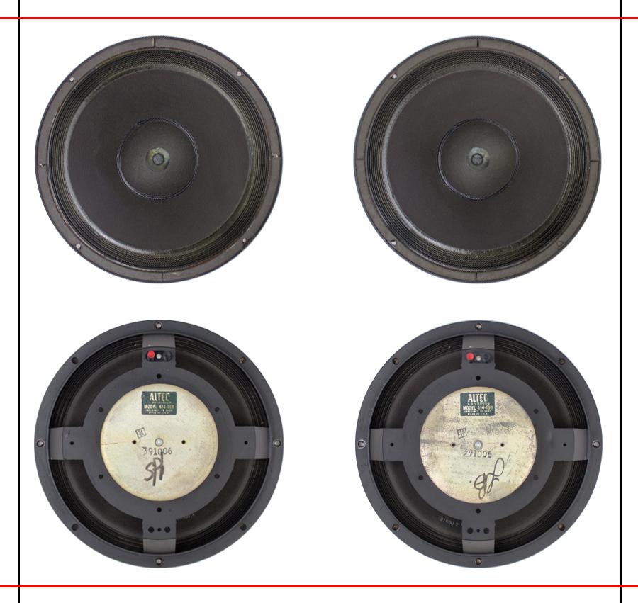 ALTEC  9844 Monitor Speaker System ◇ アルテック (414 + 806A) 16Ω ◇11