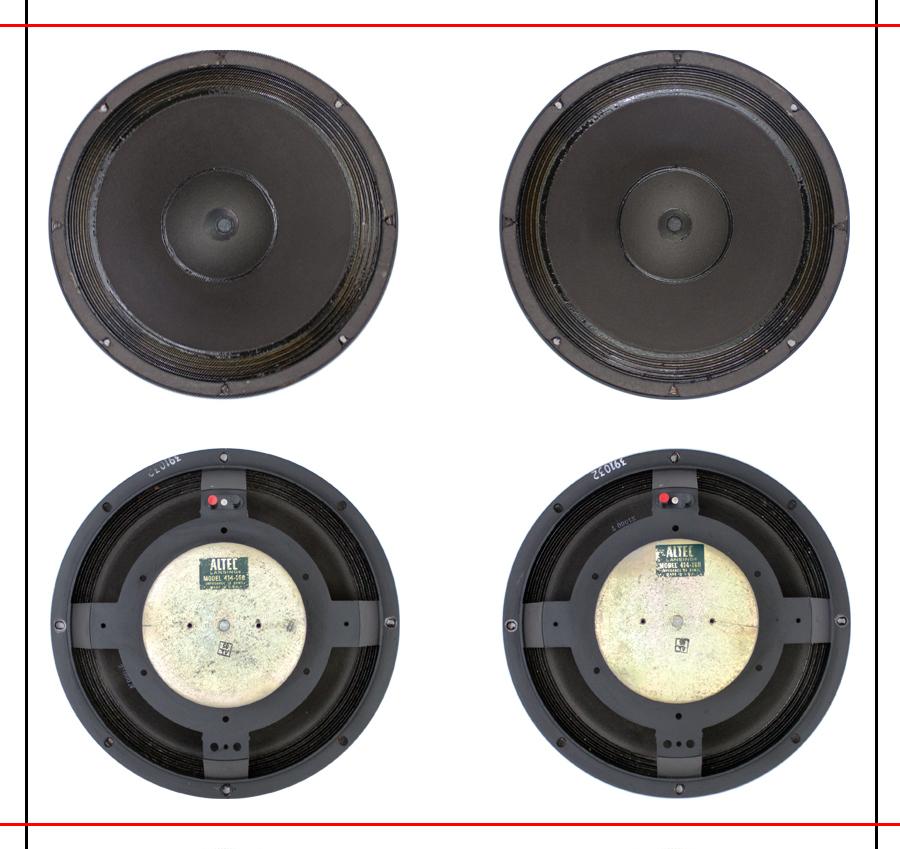 ALTEC  9844 Monitor Speaker System ◇ アルテック (414 + 806A) 16Ω ◇12