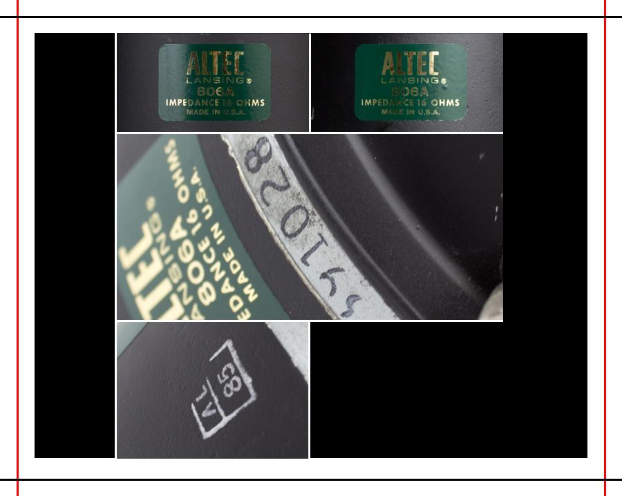 ALTEC  9844 Monitor Speaker System ◇ アルテック (414 + 806A) 16Ω ◇15