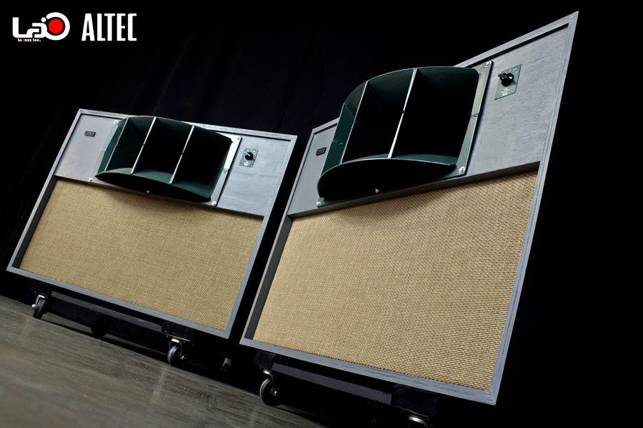 ALTEC 9845 Monitor Speaker System ◇ アルテック 初期グリーン (416z / 806A / 500G) 16Ω ◇