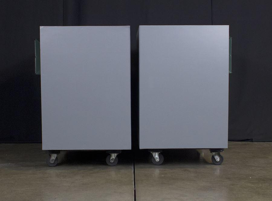 ALTEC 9845 Monitor Speaker System ◇ アルテック 初期グリーン (416z / 806A / 500G) 16Ω ◇4