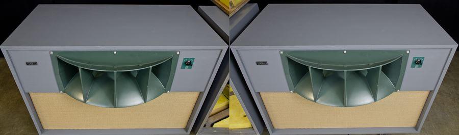 ALTEC 9845 Monitor Speaker System ◇ アルテック 初期グリーン (416z / 806A / 500G) 16Ω ◇7
