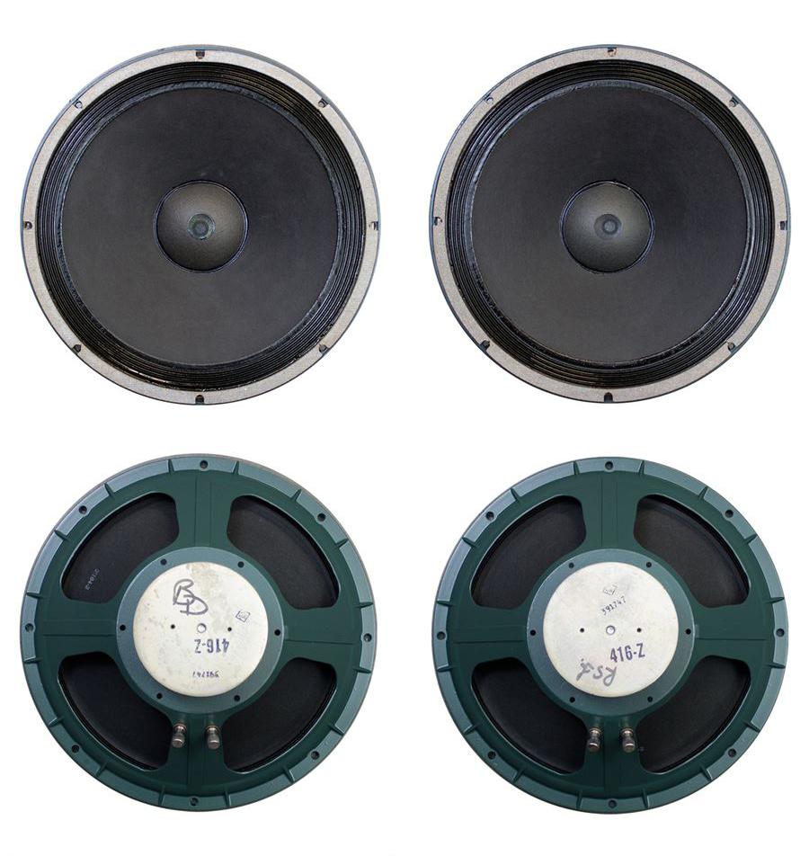 ALTEC 9845 Monitor Speaker System ◇ アルテック 初期グリーン (416z / 806A / 500G) 16Ω ◇8