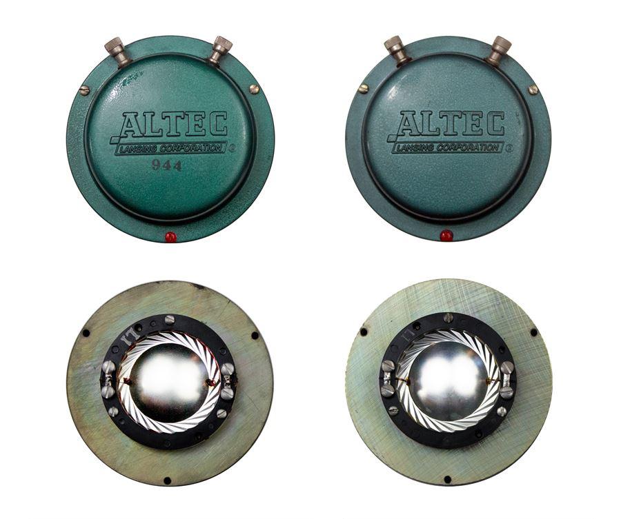ALTEC 9845 Monitor Speaker System ◇ アルテック 初期グリーン (416z / 806A / 500G) 16Ω ◇12