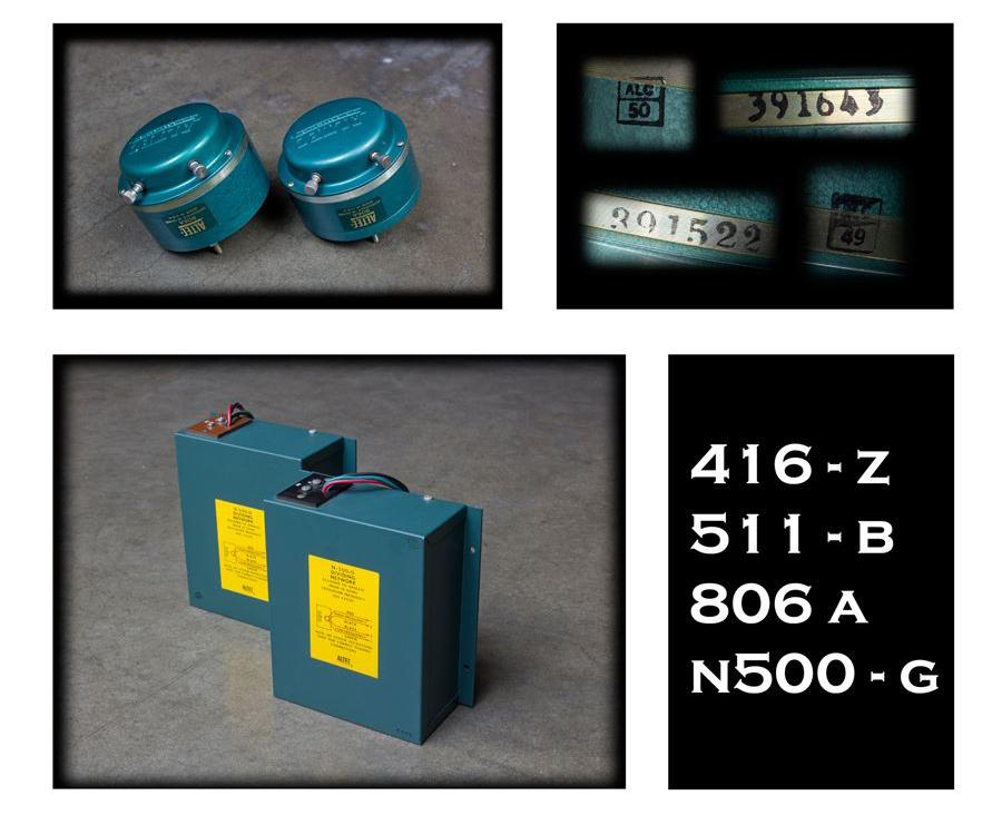 ALTEC 9845 Monitor Speaker System ◇ アルテック 初期グリーン (416z / 806A / 500G) 16Ω ◇13