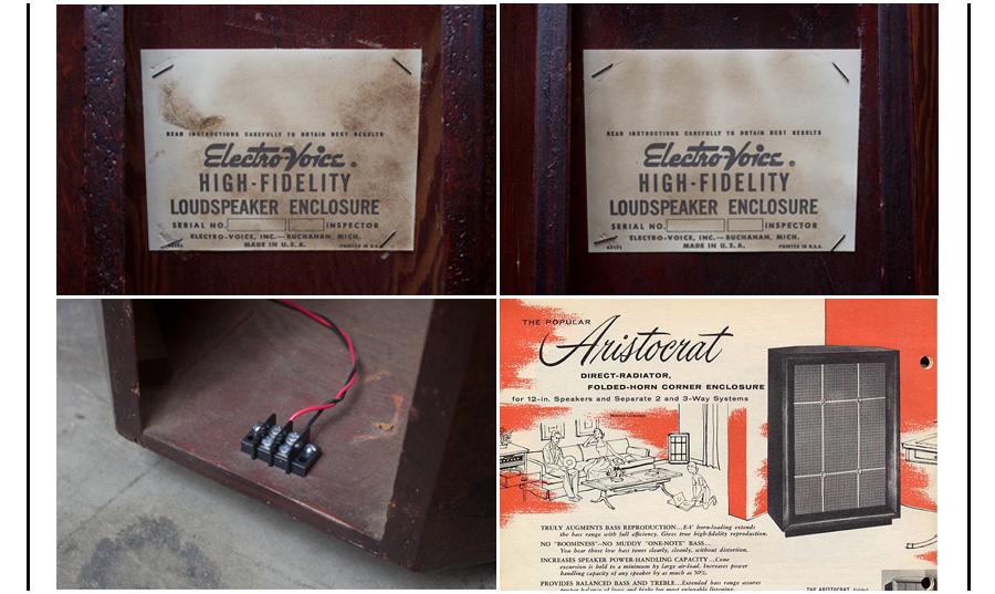 ELECTRO VOICE Aristcrat III ◇ EV アリストクラット 3ウェイ・3スピーカーシステム ◇10