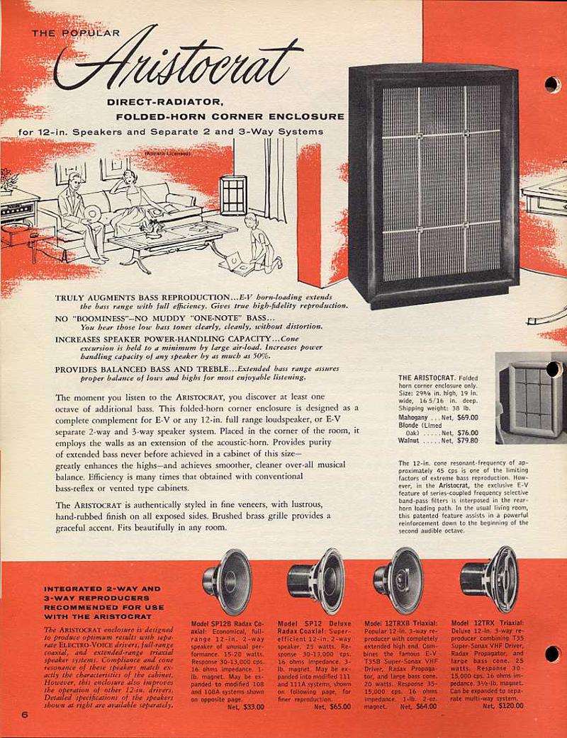ELECTRO VOICE Aristcrat III ◇ EV アリストクラット 3ウェイ・3スピーカーシステム ◇20