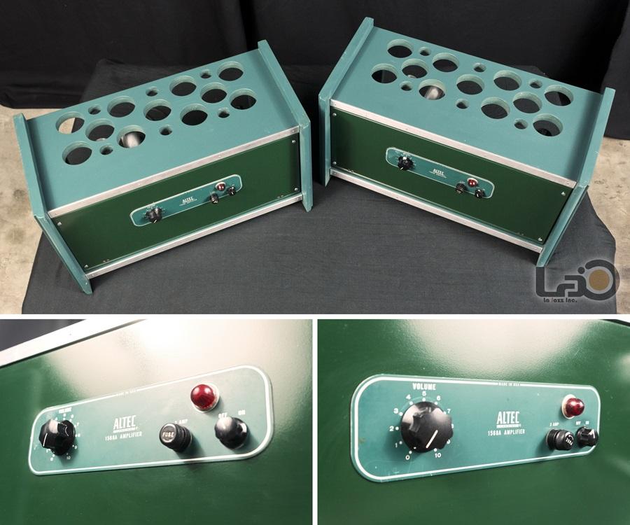 ALTEC 1568A Amplifier ◆ 真空管パワー・アンプ (専用キャビネット付き) ◆5