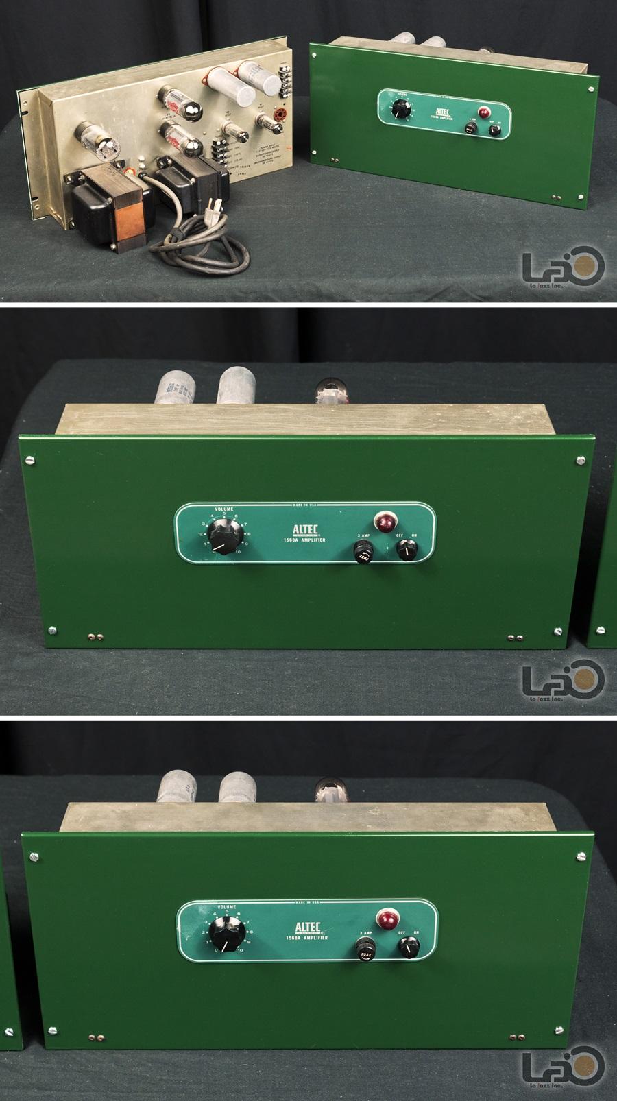 ALTEC 1568A Amplifier ◆ 真空管パワー・アンプ (専用キャビネット付き) ◆6