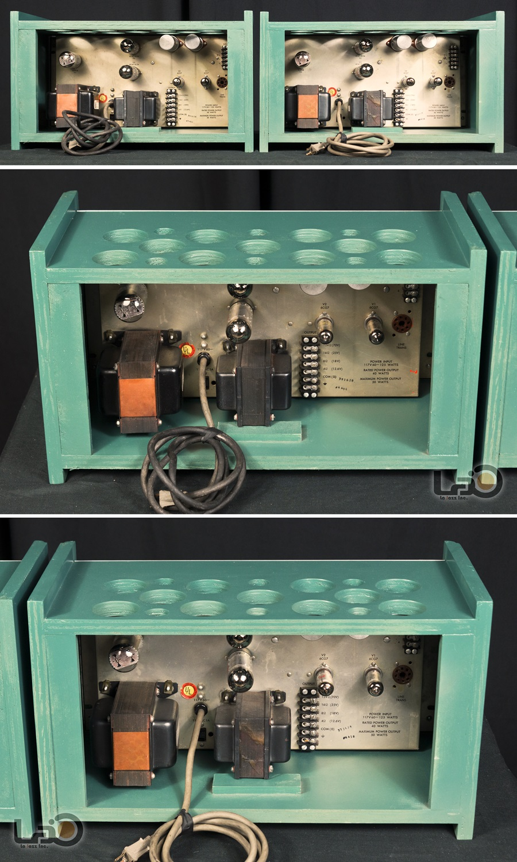 ALTEC 1568A Amplifier ◆ 真空管パワー・アンプ (専用キャビネット付き) ◆7