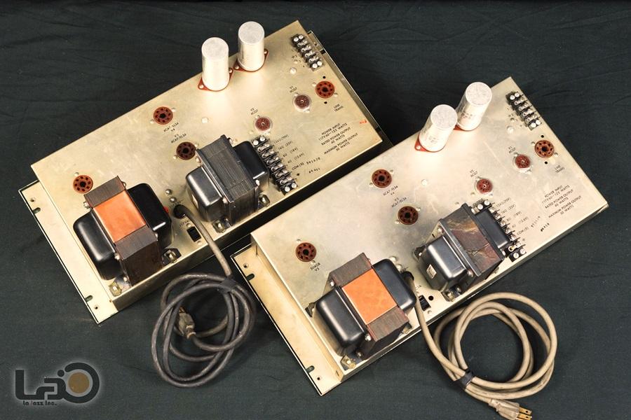 ALTEC 1568A Amplifier ◆ 真空管パワー・アンプ (専用キャビネット付き) ◆9