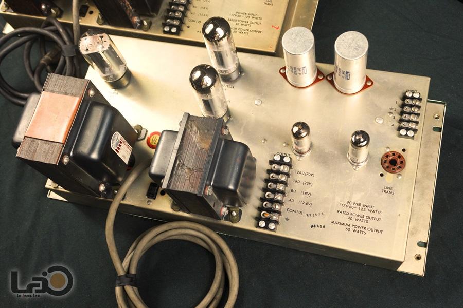 ALTEC 1568A Amplifier ◆ 真空管パワー・アンプ (専用キャビネット付き) ◆11