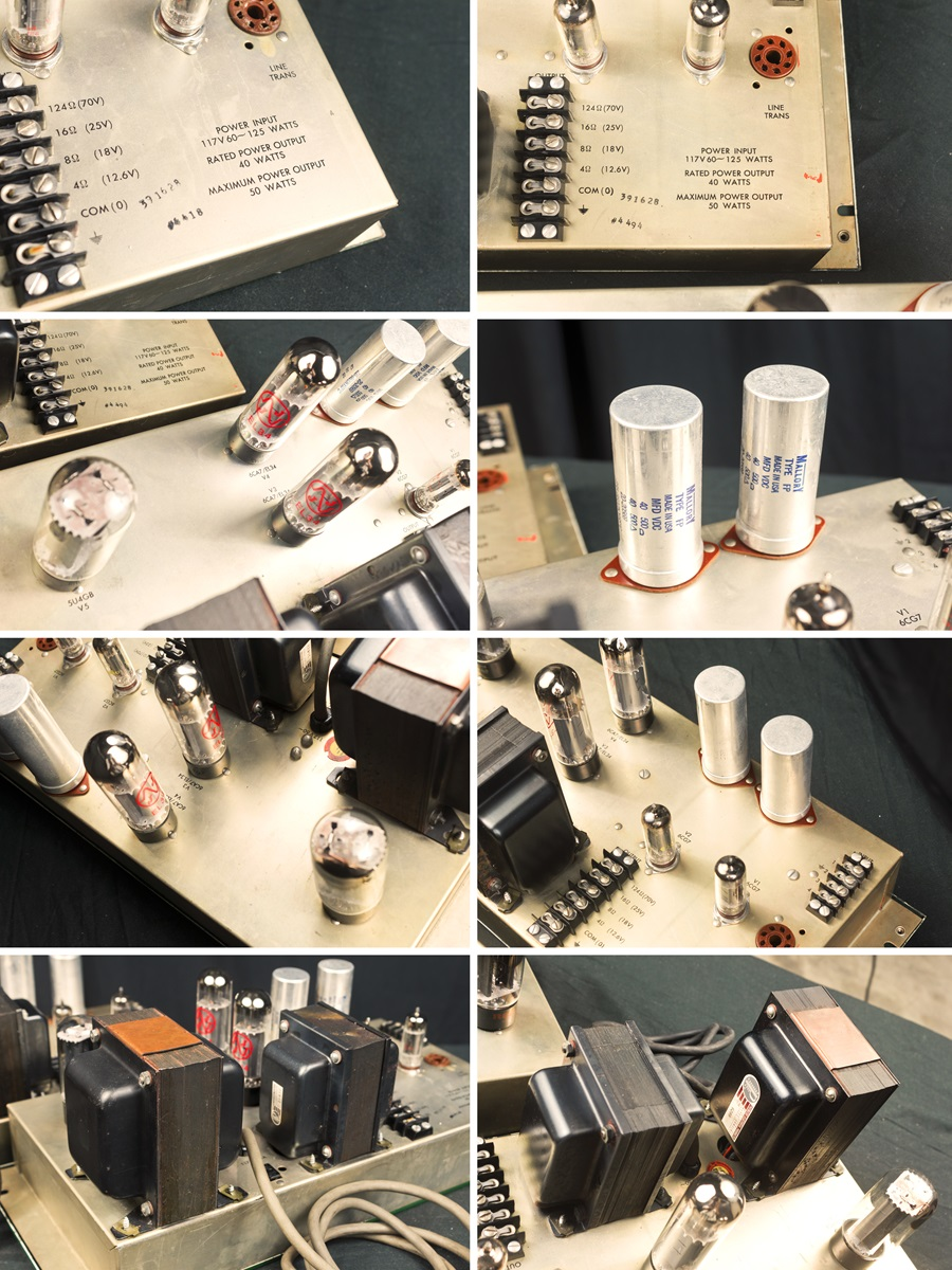 ALTEC 1568A Amplifier ◆ 真空管パワー・アンプ (専用キャビネット付き) ◆12