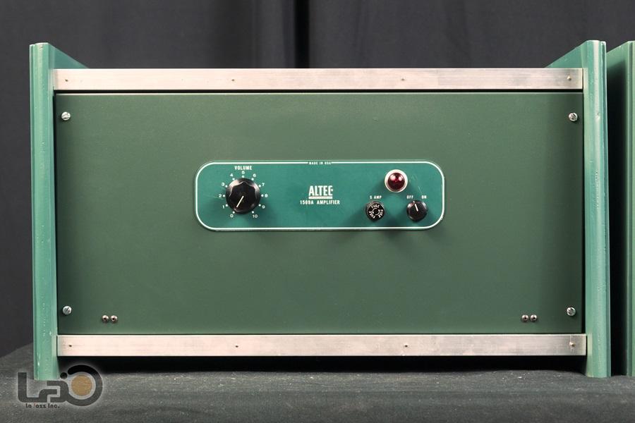 ALTEC 1569A Amplifier ◇真空管 パワーアンプ ペア (専用キャビネット付き)◇9