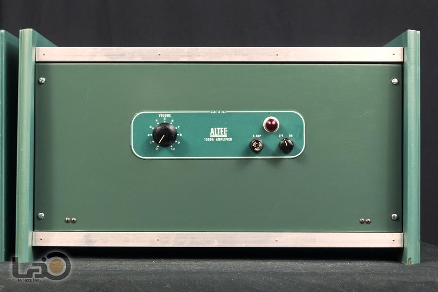 ALTEC 1569A Amplifier ◇真空管 パワーアンプ ペア (専用キャビネット付き)◇10