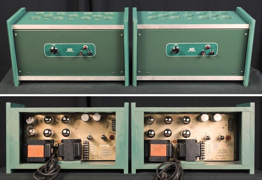 ALTEC 1569A Amplifier ◇真空管 パワーアンプ ペア (専用キャビネット付き)◇11