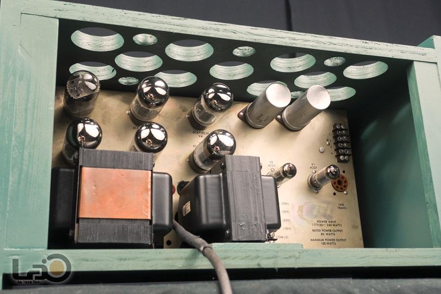 ALTEC 1569A Amplifier ◇真空管 パワーアンプ ペア (専用キャビネット付き)◇12