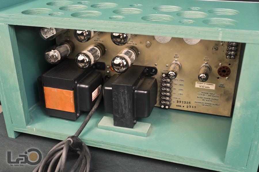 ALTEC 1569A Amplifier ◇真空管 パワーアンプ ペア (専用キャビネット付き)◇13