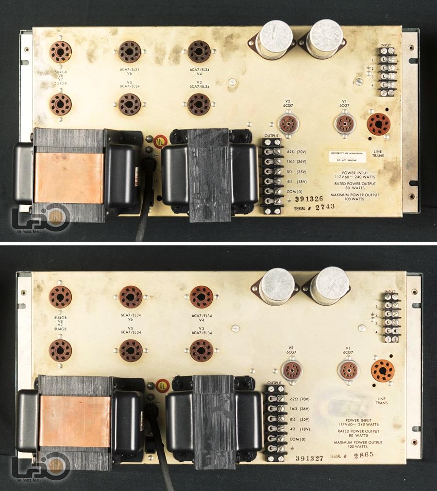 ALTEC 1569A Amplifier ◇真空管 パワーアンプ ペア (専用キャビネット付き)◇14