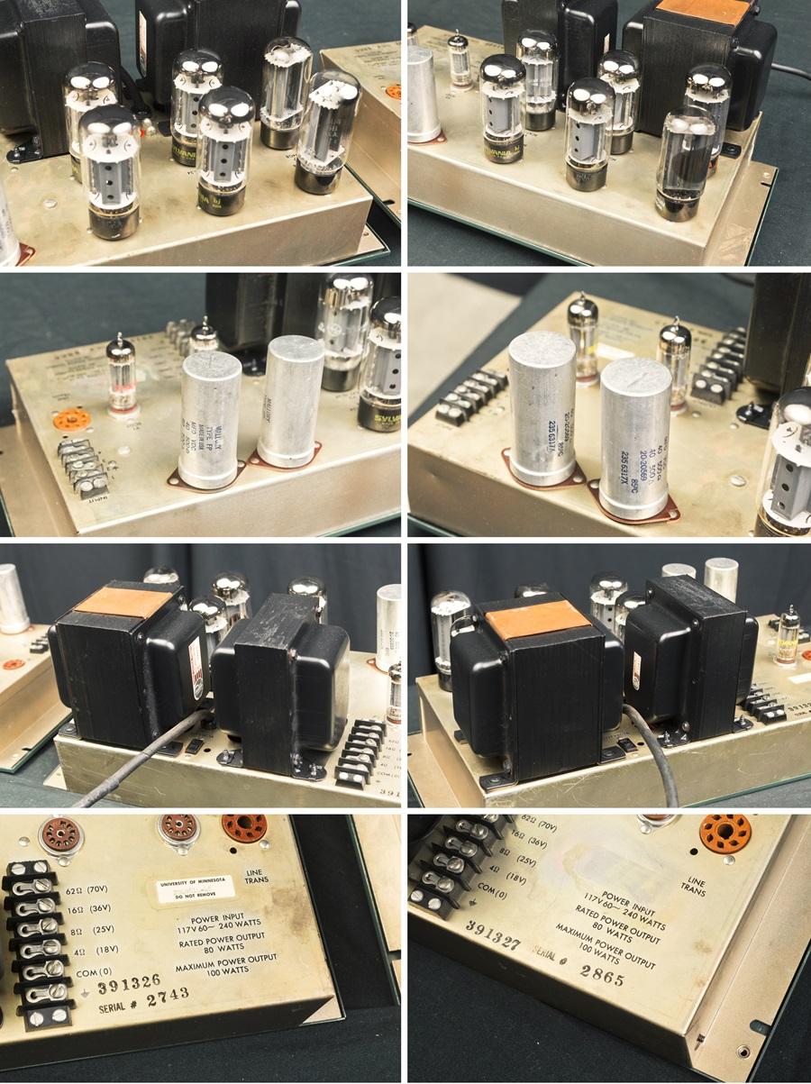 ALTEC 1569A Amplifier ◇真空管 パワーアンプ ペア (専用キャビネット付き)◇16