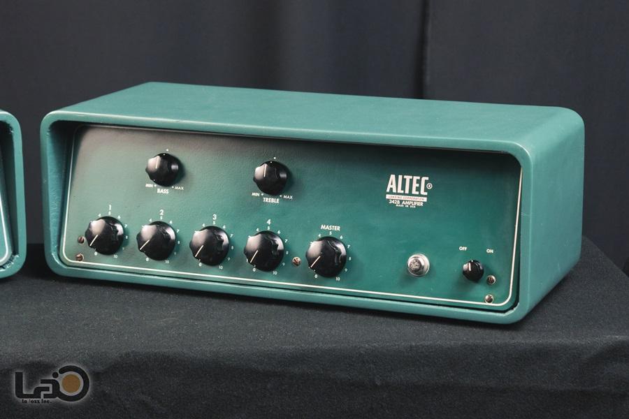 ALTEC 342B Amplifier ◇ 真空管 パワーアンプ + 専用ケース ◇4
