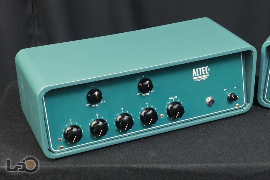 ALTEC 342B Amplifier ◇ 真空管 パワーアンプ + 専用ケース ◇5