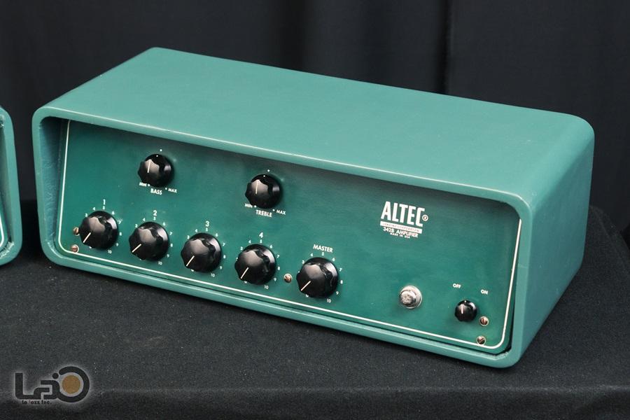 ALTEC 342B Amplifier ◇ 真空管 パワーアンプ + 専用ケース ◇6