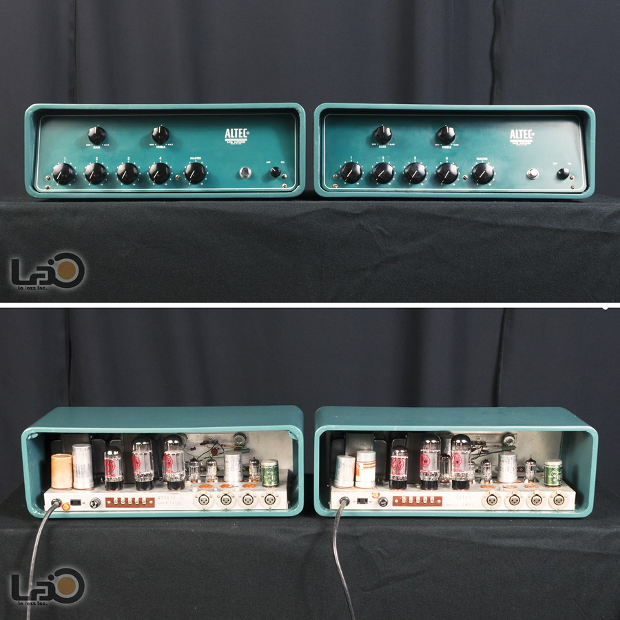 ALTEC 342B Amplifier ◇ 真空管 パワーアンプ + 専用ケース ◇7