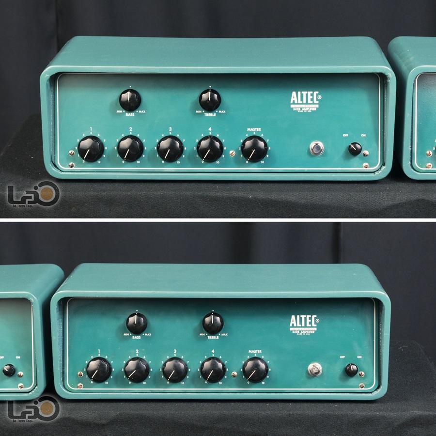 ALTEC 342B Amplifier ◇ 真空管 パワーアンプ + 専用ケース ◇8