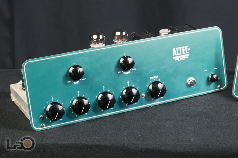 ALTEC 342B Amplifier ◇ 真空管 パワーアンプ + 専用ケース ◇9