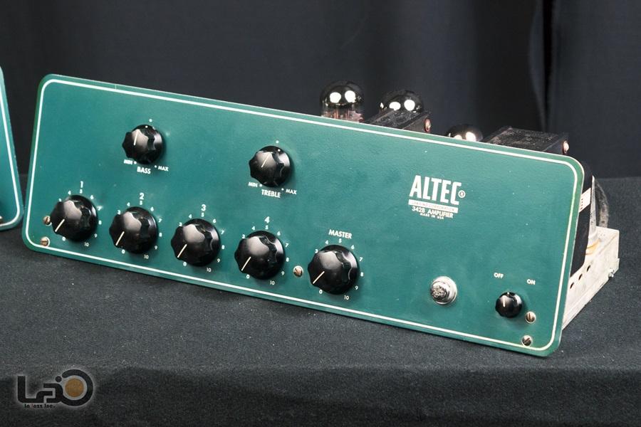 ALTEC 342B Amplifier ◇ 真空管 パワーアンプ + 専用ケース ◇10