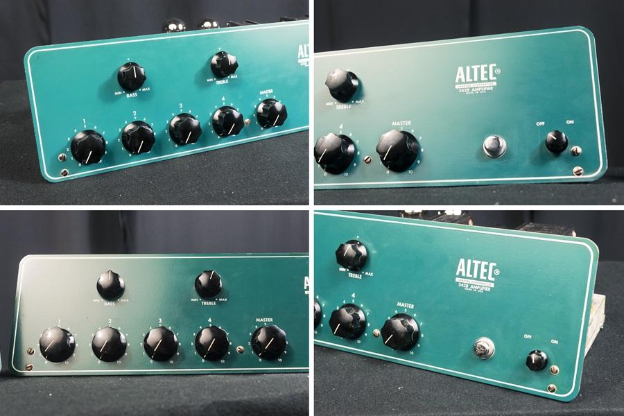 ALTEC 342B Amplifier ◇ 真空管 パワーアンプ + 専用ケース ◇11