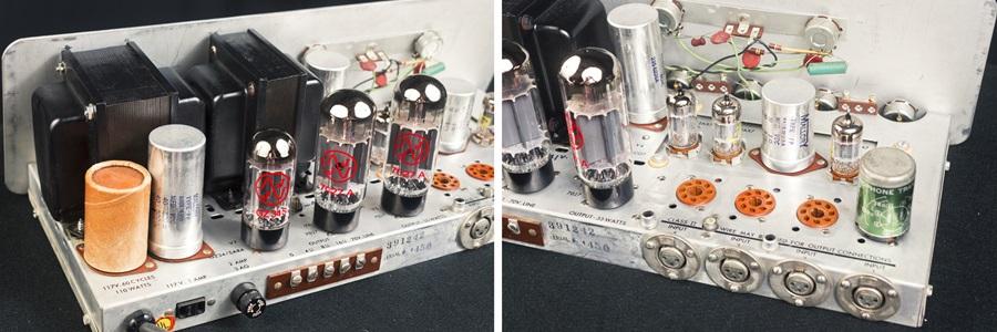 ALTEC 342B Amplifier ◇ 真空管 パワーアンプ + 専用ケース ◇13