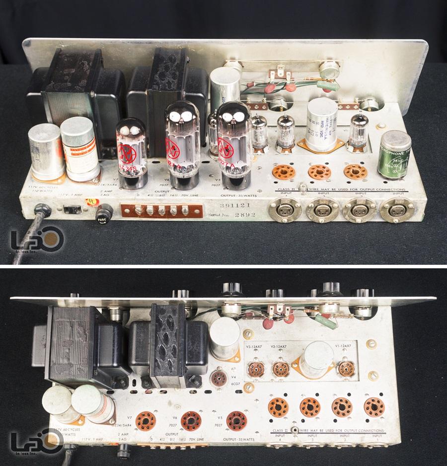 ALTEC 342B Amplifier ◇ 真空管 パワーアンプ + 専用ケース ◇14