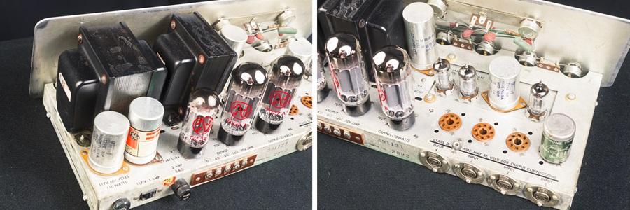 ALTEC 342B Amplifier ◇ 真空管 パワーアンプ + 専用ケース ◇15
