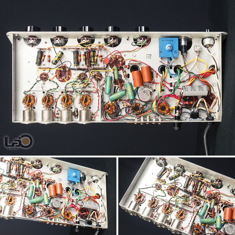 ALTEC 342B Amplifier ◇ 真空管 パワーアンプ + 専用ケース ◇16
