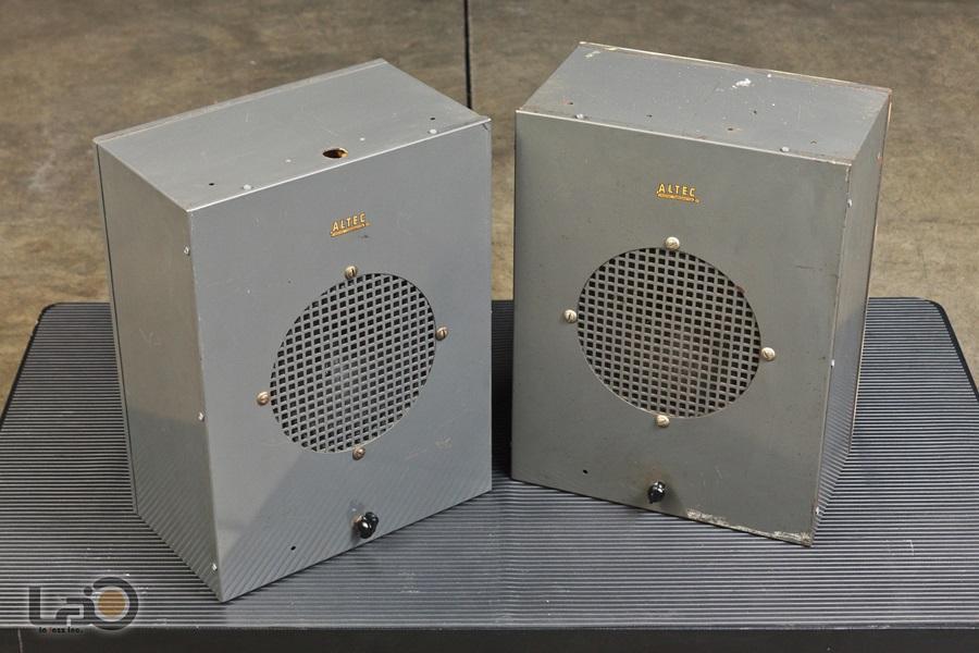 ALTEC 403A フルレンジ・ユニット + アルテックオリジナル工業用・キャビネット3