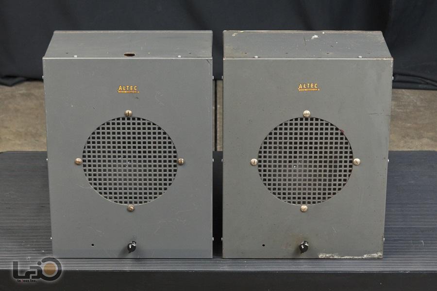 ALTEC 403A フルレンジ・ユニット + アルテックオリジナル工業用・キャビネット4
