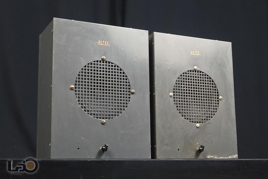 ALTEC 403A フルレンジ・ユニット + アルテックオリジナル工業用・キャビネット5
