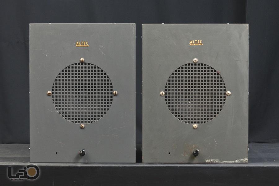 ALTEC 403A フルレンジ・ユニット + アルテックオリジナル工業用・キャビネット7