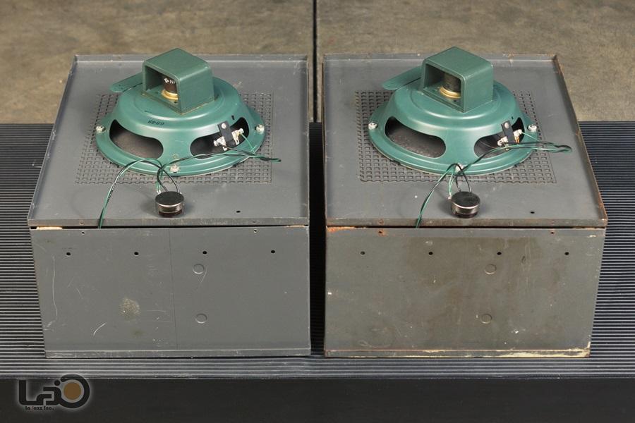 ALTEC 403A フルレンジ・ユニット + アルテックオリジナル工業用・キャビネット10