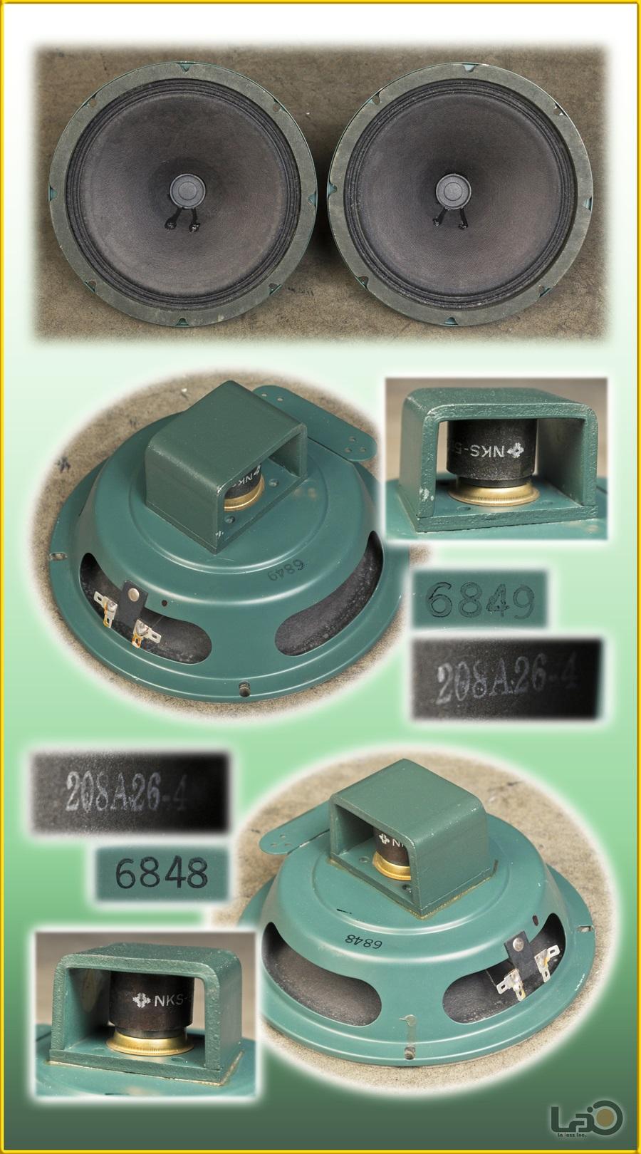 ALTEC 403A フルレンジ・ユニット + アルテックオリジナル工業用・キャビネット13