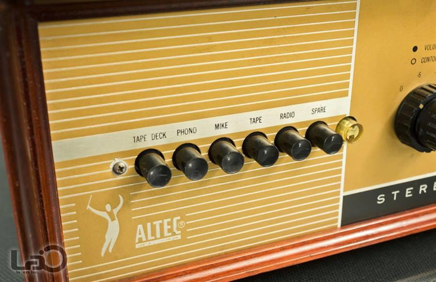 ALTEC 445A ◇ ステレオ真空管コントロール・プリアンプ ◇6