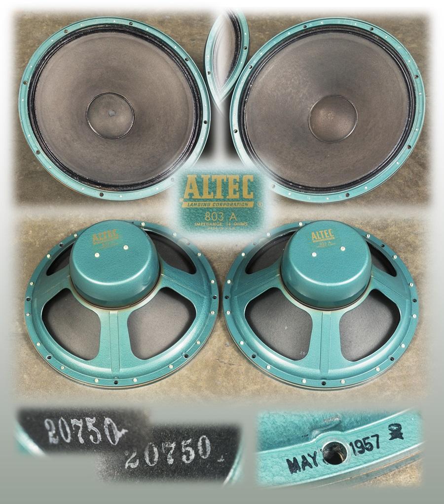ALTEC 820C ICONIC ◇ アイコニック・システム(803A + 802C) 16Ω ◇19