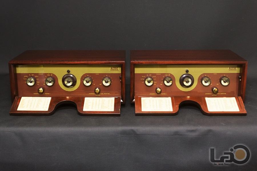 ALTEC Model 440B Amplifier ◇ モノラル真空管プリアンプ ペア ◇7